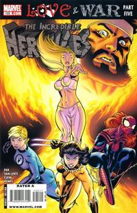Cover Thumbnail for Incredible Hercules (Marvel, 2008 series) #125