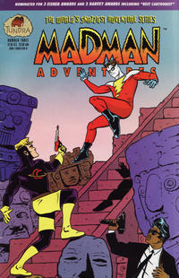 Cover Thumbnail for Madman Adventures (Tundra, 1992 series) #3