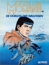 Cover Thumbnail for Bob Morane (Le Lombard, 1975 series) #16 - De oorlog der walvissen