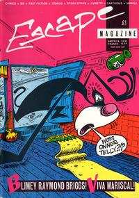 Cover Thumbnail for Escape (Escape Publishing, 1983 series) #4