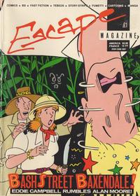 Cover Thumbnail for Escape (Escape Publishing, 1983 series) #5