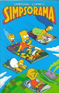 Cover Thumbnail for Simpsons Comics: Simpsorama (HarperCollins, 1996 series)