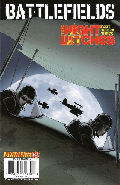 Cover for Battlefields: The Night Witches (Dynamite Entertainment, 2008 series) #2