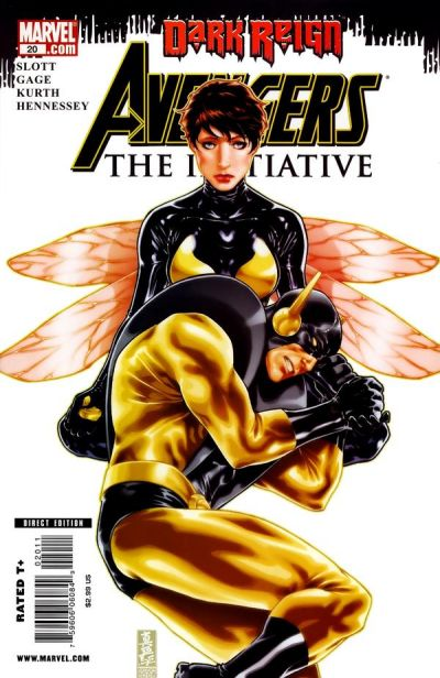 Cover for Avengers: The Initiative (Marvel, 2007 series) #20