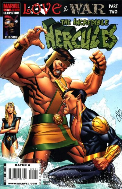 Cover for Incredible Hercules (Marvel, 2008 series) #122 [Cover A]