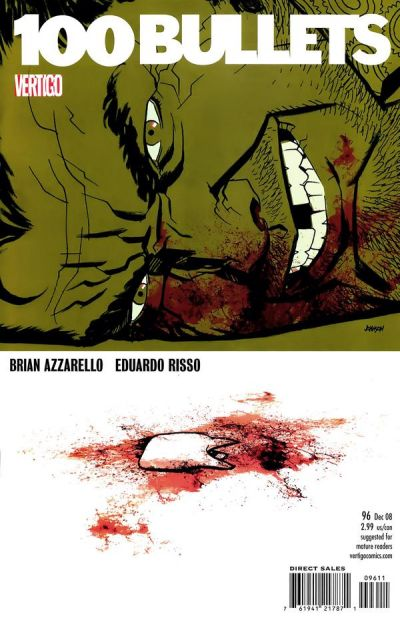 Cover for 100 Bullets (DC, 1999 series) #96