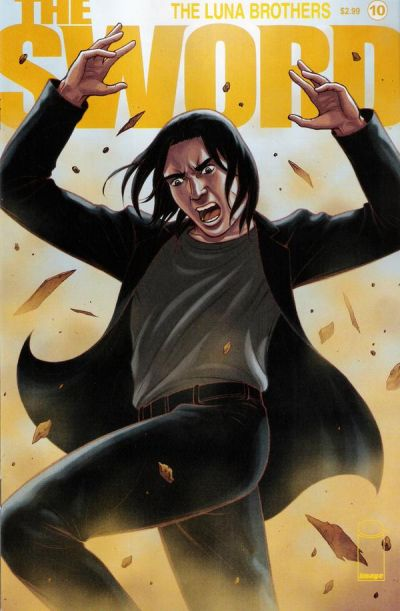 Cover for The Sword (Image, 2007 series) #10
