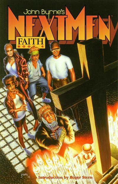 Cover for John Byrne's Next Men (Dark Horse, 1993 series) #4