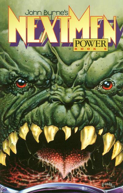 Cover for John Byrne's Next Men (Dark Horse, 1993 series) #5