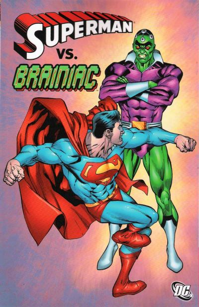 Cover for Superman vs. Brainiac (DC, 2008 series)