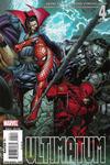 Cover for Ultimatum (Marvel, 2009 series) #4