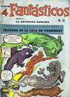 Cover for Los 4 Fantásticos (Editora de Periódicos La Prensa S.C.L., 1962 series) #33