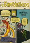 Cover for Los 4 Fantásticos (Editora de Periódicos La Prensa S.C.L., 1962 series) #35