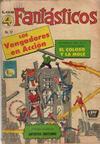 Cover for Los 4 Fantásticos (Editora de Periódicos La Prensa S.C.L., 1962 series) #37
