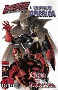 Cover Thumbnail for Daredevil & Captain America: Dead on Arrival (Marvel, 2008 series) #1