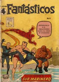 Cover Thumbnail for Los 4 Fantásticos (Editora de Periódicos La Prensa S.C.L., 1962 series) #4