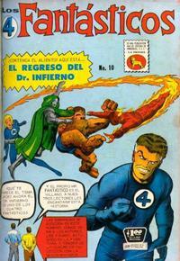 Cover Thumbnail for Los 4 Fantásticos (Editora de Periódicos La Prensa S.C.L., 1962 series) #10