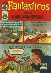 Cover for Los 4 Fantásticos (Editora de Periódicos La Prensa S.C.L., 1962 series) #19