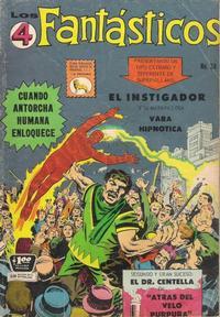 Cover Thumbnail for Los 4 Fantásticos (Editora de Periódicos La Prensa S.C.L., 1962 series) #38