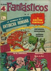 Cover Thumbnail for Los 4 Fantásticos (Editora de Periódicos La Prensa S.C.L., 1962 series) #42