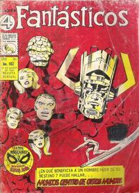 Cover Thumbnail for Los 4 Fantásticos (Editora de Periódicos La Prensa S.C.L., 1962 series) #102