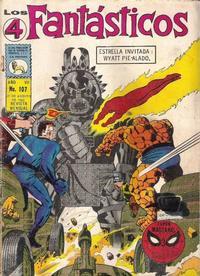 Cover Thumbnail for Los 4 Fantásticos (Editora de Periódicos La Prensa S.C.L., 1962 series) #107