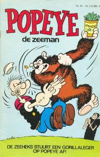 Cover Thumbnail for Popeye (Semic Press, 1978 series) #44