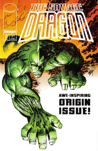 Cover for Savage Dragon (Image, 1993 series) #0