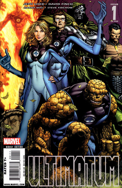Cover for Ultimatum (Marvel, 2009 series) #1 [Second Printing]