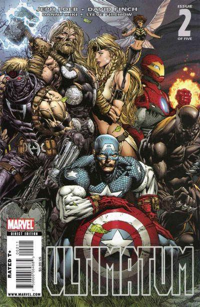 Cover for Ultimatum (Marvel, 2009 series) #2 [Third Printing]