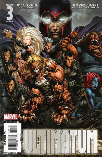 Cover for Ultimatum (Marvel, 2009 series) #3 [Second Printing]
