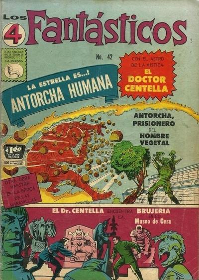 Cover for Los 4 Fantásticos (Editora de Periódicos La Prensa S.C.L., 1962 series) #42