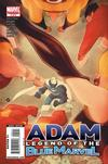 Cover for Adam: Legend of the Blue Marvel (Marvel, 2009 series) #5