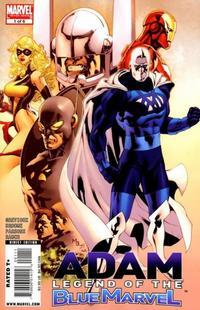 Cover Thumbnail for Adam: Legend of the Blue Marvel (Marvel, 2009 series) #1