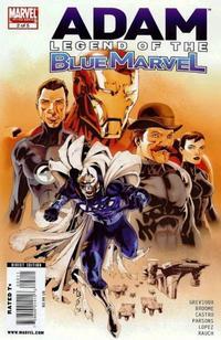 Cover Thumbnail for Adam: Legend of the Blue Marvel (Marvel, 2009 series) #2