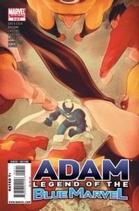 Cover Thumbnail for Adam: Legend of the Blue Marvel (Marvel, 2009 series) #5
