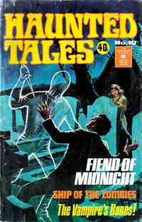 Cover Thumbnail for Haunted Tales (K. G. Murray, 1973 series) #10