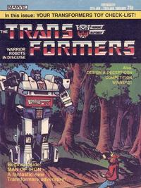 Cover Thumbnail for Transformers (Marvel UK, 1984 series) #9