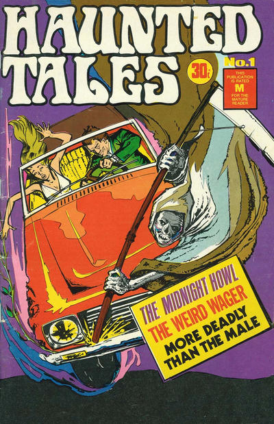 Cover for Haunted Tales (K. G. Murray, 1973 series) #1