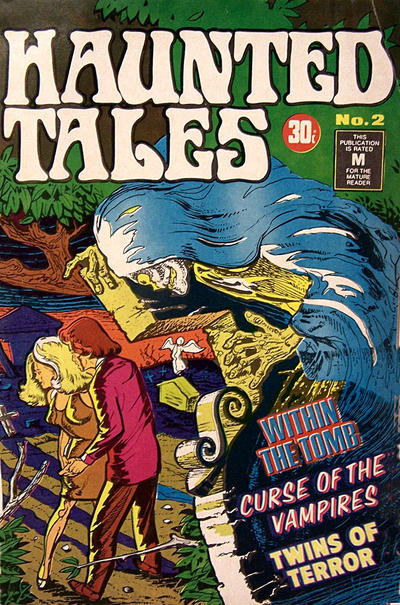 Cover for Haunted Tales (K. G. Murray, 1973 series) #2