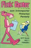 Cover for Pink Panter (Nordisk Forlag, 1974 series) #1/1974