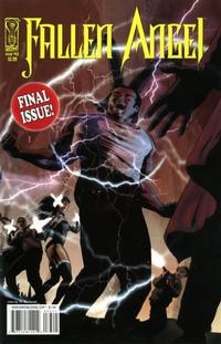 Cover Thumbnail for Fallen Angel (IDW, 2005 series) #33