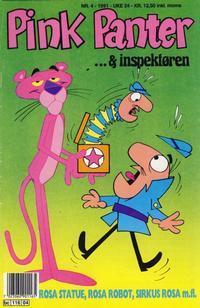 Cover Thumbnail for Pink Panter (Semic, 1977 series) #4/1991