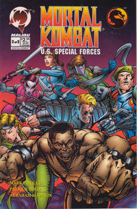 Cover Thumbnail for Mortal Kombat: U.S. Special Forces (Malibu, 1995 series) #2