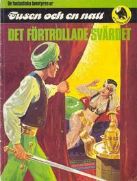 Cover Thumbnail for De fantastiska äventyren ur Tusen och en natt (Semic, 1981 series)