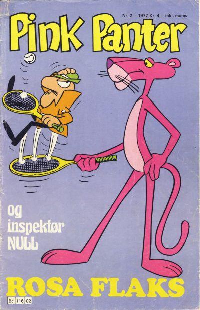 Cover for Pink Panter (Semic, 1977 series) #2/1977