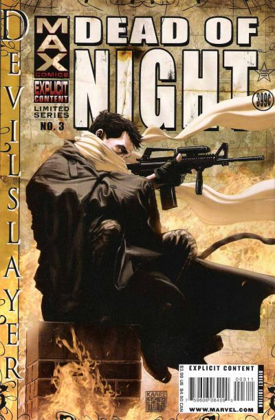 Cover for Dead of Night Featuring Devil-Slayer (Marvel, 2008 series) #3