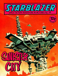 Cover Thumbnail for Starblazer (D.C. Thomson, 1979 series) #19