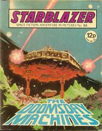 Cover Thumbnail for Starblazer (D.C. Thomson, 1979 series) #20