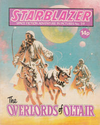 Cover Thumbnail for Starblazer (D.C. Thomson, 1979 series) #39